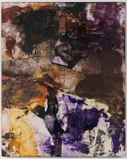 "Bill Jensen, ""Dogon,"" 2010-11. Oil on linen, 40 x 32"". Courtesy Cheim & Read, New York."
