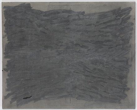 Sergej Jensen, 2011, Oil and acrylic on sewn hemp, 47 1/4 x 59 1/16 inches (120 x 150  cm).