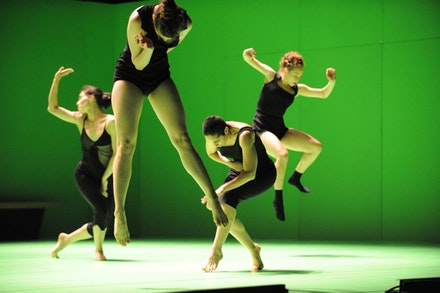 Batsheva Dance Company in Ohad Naharin's <i>Hora</i>. Photo credit: Gadi Dagon.
