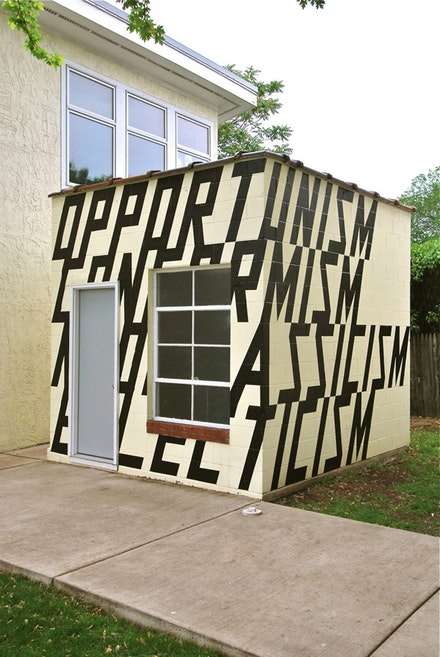 Lars Breuer, The Suburban, 2009. Exterior project.