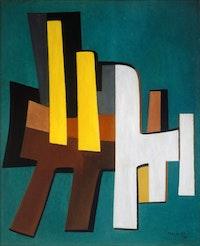 Alberto Magnelli Italian: 1888—1971. Calme Fabuleux. Grasse, 1941.