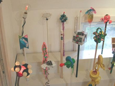 <i>Cross-Pollination</i>, installation view, New York side. Courtesy Mery Lynn McCorkle.
