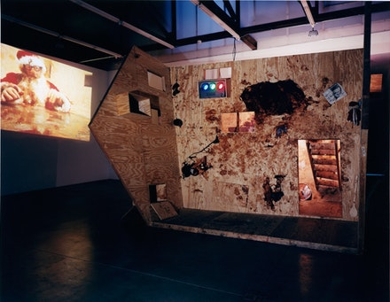 Paul McCarthy, <i>Santa Chocolate Shop</i>, February 17, 2001 &#150; April 7, 2001. Courtesy of the artist and Luhring Augustine, New York.