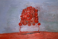 "Philip Guston. ""Cherries II,"" 1976."