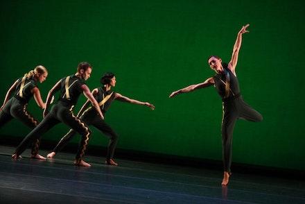 Mark Morris Dance Group in <em>A Choral Fantasy</em>. Photo credit: Julieta Cervantes.