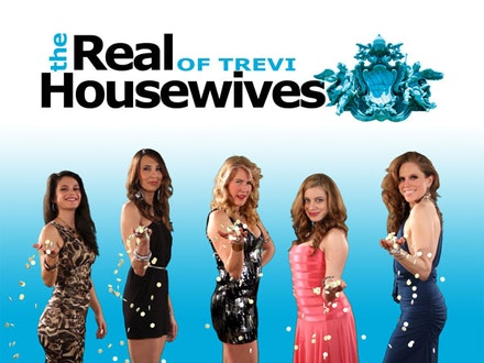 The Real Housewives of Trevi (left to right): Gwen Calvez, Sandra Bauleo, Cary Curran, Elise Bernlohr, and Heather Litteer. Photo credit: Joshua Coleman.