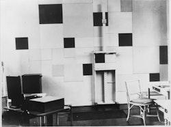 Studio of Piet Mondrian, 26 rue du Départ, Paris, 1930. Collection RKD, The Hague.