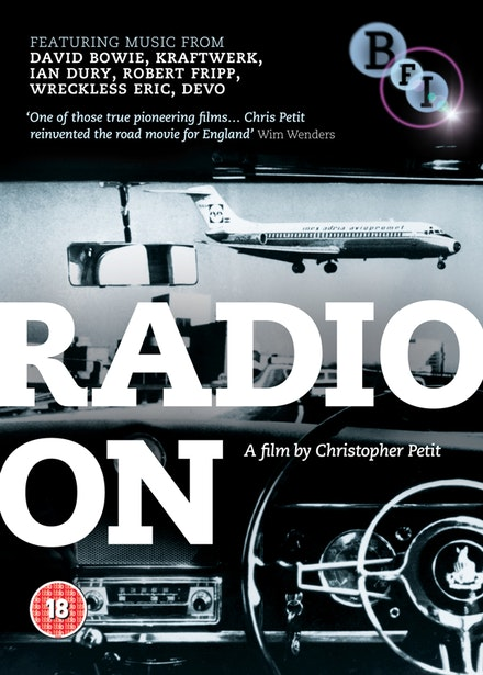 <i>Radio On</i>, directed by Christopher Petit. Image courtesy of BFI