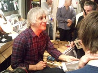 Lee Ranaldo at Other Music. Photo: Tom Choi.