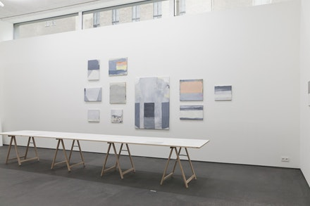 German Stegmaier, installation view. Courtesy Galerie Zink.