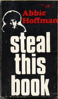 <i>Steal This Book</i> (Pirate Editions/Grove Press, 1971).