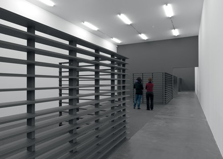 Liam Gillick, <i>Three perspectives and a short scenario</i>. Kunsthalle Zurich, 2008. Installation view. Image courtesy of the artist and Kunsthalle Zurich.