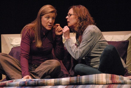 Mary McCann and JoBeth Williams in <i>Body Awareness</i> by Annie Baker.Photo by Doug Hamilton. Courtesy Atlantic Theater Company.
