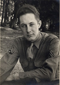 William Cole during WWII.