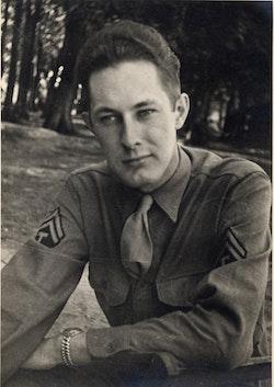 William Cole during WWII.
