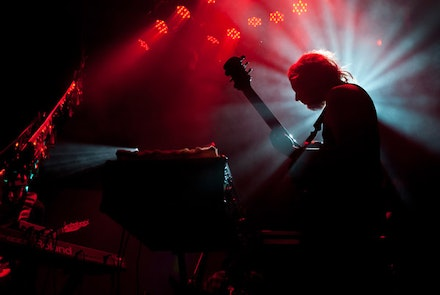 Sun Araw at (Le) Poisson Rouge, Unsound Festival. Photo: Natasha Phillips.
