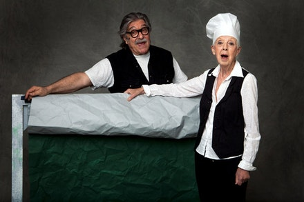 David Gordon and Valda Setterfield. Photo: Andrew Eccles.