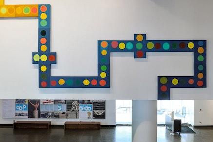 Shura Cheronzatonskaya, Lobby installation. Photo: Paul Takeuchi.