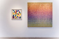 <i>Material Tak</i>, Installation view, Kati Vilim (left) and Peter Fox (right). Courtesy LDO Photo.