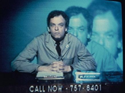 Jaime Davidovich, <i>The Live! Show, 1982</i>. Image courtesy of MediaNoche.