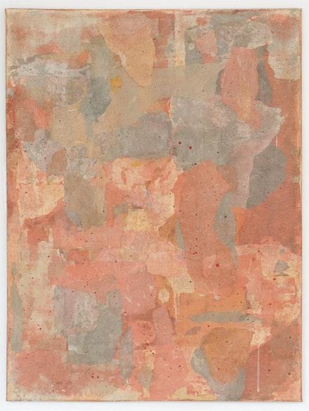 "Wei Jia, ""No #12132,"" 2011. Gouache, pastel, paper collage on canvas. Photo: Ken Lee."