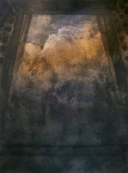 "Xiao Bing, ""Withheld of Han Poetry Rhyme,"" 2010. Pigmrny on linen. Photo:  Xiao Bing."