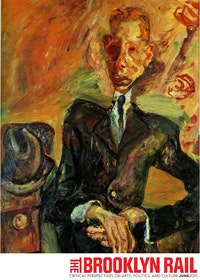 "CHAIM SOUTINE (1893-1943). ""PORTRAIT OF A MAN WITH A FELT HAT."" OIL ON CANVAS 36 X 28"". PRIVATE COLLECTION, USA. ©ARS, NY"