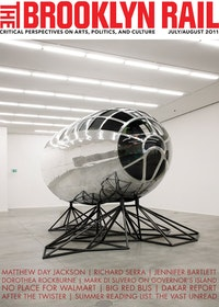 "MATTHEW DAY JACKSON, ""AXIS MUNDI,â€� 2011. REPURPOSED COCKPIT OF A B29 AIRCRAFT, ALUMINIUM, RED OAK, GLASS, STEEL, PLASTIC, LEAD, BRONZE, IRON, OBSIDIAN, LEATHER, SILVER, STAINLESS STEEL, CONCRETE. 146 7/8 × 189 × 232 1/4  ̋."
