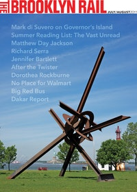 "MARK DI SUVERO, ""WILL,â€� 1994. STEEL. 42 ́ 8  ̋ × 36 ́ × 29 ́ 6  ̋. THE DORIS AND DONALD FISHER COLLECTION. PHOTOGRAPH BY JERRY l. THOMPSON"
