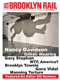 "Nancy Davidson. ""Dustup (Shadow),� 2012. Mixed media.
