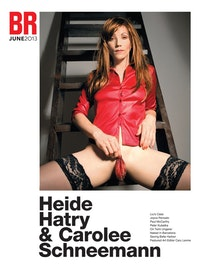 "Heide Hatry. ""Betty Hirst,� 2005. Silver halide print, 30 x 20�. Courtesy of the artist."