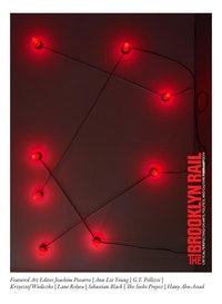 G.T. Pellizzi. &#147;Constellation in Red (Figure 1),&#148; 2013. Light bulbs, porcelain, steel, wire, 96 &times; 148&#733;. Courtesy Mary Boone Gallery, NY.<br />