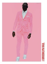 Barkley L. Hendricks. <em>Photo Bloke</em>, 2016. Oil and acrylic on linen. 72 × 48 inches. © Barkley L. Hendricks. Courtesy the artist and Jack Shainman Gallery.<br />