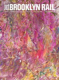 Larry Poons, <em>Antique</em> (cropped), 2017, acrylic on canvas. Courtesy Larry Poons studio and Yares Art.