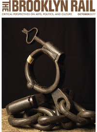 Andres Serrano, <em>Iron Shackle, The Clink Prison Museum, London, UK (Torture)</em>, 2015, pigment print, back-mounted on dibond, wooden frame, 60 x 50 inches. Courtesy the artist.