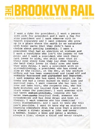 Zoe Leonard, <em>I want a President</em>, 1992. Photocopy of typewritten text on onionskin paper, 14 x 8 inches. &copy; Zoe Leonard. Courtesy the artist, Hauser &amp; Wirth and Galerie Gisela Capitain, Cologne.