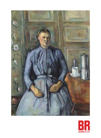 Paul Ce&eacute;zanne, <em>Woman with a Cafetie&egrave;re</em>, 1890?1895. Oil on canvas, 51 3/16 x 38 3/16 inches. Muse&eacute;e d&rsquo;Orsay, Paris, gift of Mr. and Mrs. Jean-Victor Pellerin, 1956. Photo: &copy; RMN-Grand Palais (Muse&eacute;e d&rsquo;Orsay) / Herve&eacute; Lewandowski.