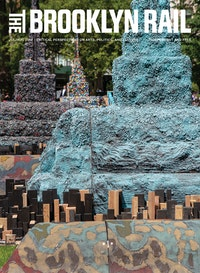 Leonardo Drew, Installation in-process for <em>City in the Grass</em>, commissioned by Madison Square Park Conservancy. Photo: Hunter Canning. Courtesy Madison Square Park Conservancy.