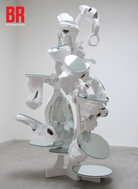 Rachel Feinstein, <em>Model</em>, 2000. Mirrors, wood, plaster, and enamel. &copy; Rachel Feinstein. Courtesy of the artist.