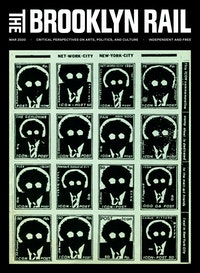 Stamp sheet by H.R. Fricker of Trogen, Switzerland. From the cover of Mark Bloch?s Panmag International Magazine, Issue 6, New York, 1984. 5 1/2 x 8 1/2 inches. Photocopy.
