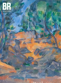 Paul C&eacute;zanne, <em>Trees and Rocks</em>, 1900&ndash;1904. Oil on canvas, 61.9 ? 51.4 cm. Dixon Gallery and Gardens, Memphis, Tennessee.