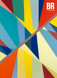 Odili Donald Odita, <em>Great Divide</em>, 2017. Acrylic on canvas, 74 x 90 inches. Courtesy the artist and Jack Shainman Gallery, New York.