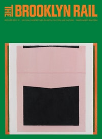 Jo Baer, <em>The Risen (Big Belly)</em>, 1960&ndash;61/2019. Oil on canvas. 72 3/8 x 72 3/8. &copy; Jo Baer. Courtesy Pace Gallery.