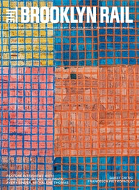 McArthur Binion, <em>Modern:Ancient:Brown</em>, 2021. Ink, oil paint stick, and paper on board, 72 x 96 x 2 inches. Courtesy the artist and Lehmann Maupin, New York, Hong Kong, Seoul, and London.