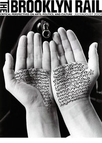 "COVER: Shirin Neshat, ""Guardians of Revolution (Women of Allah Series)"" 1994. B&W RC print & ink, 11 x 14 inches, 27.9 x 35.6 cm. Copyright Shirin Neshat. Courtesy Gladstone Gallery."