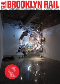 Sarah Sze<br /> 360 (Portable Planetarium), 2010<br /> mixed media, wod, paper, string, jeans, rocks<br /> 162 x 136 x 185 inches. Photo: Tom Powel Imaging, Courtesy the artist and Tanya Bonakdar Galery, New York.
