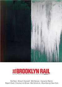 "PAT STEIR<br /> ""WINTER GROUP 5: DARK GREEN, RED AND SILVER"" (2009-11) OIL ON CANVAS, 131 5/8 x 132 INCHES."